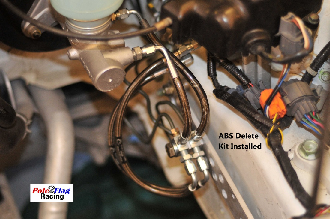 Abs Delete Kit For Oem Brakes Pole 2 Flag Racing